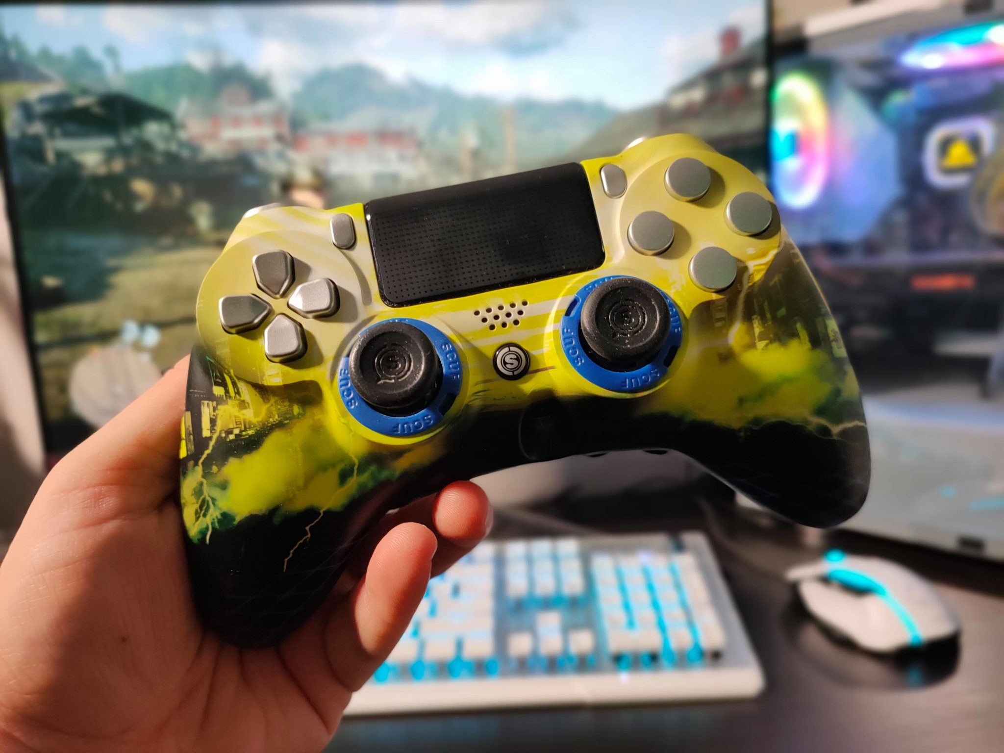 scuf gaming impact ps4 controller