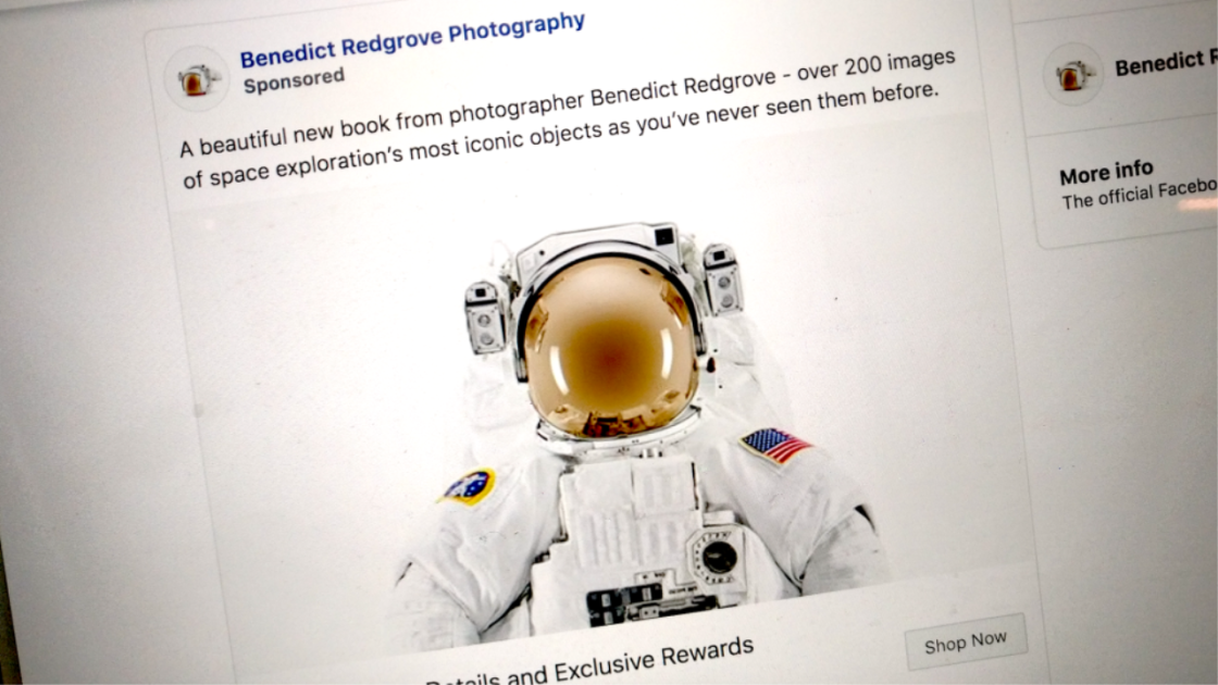 Flat Earthers Stymie Facebook-annonser för NASA Book Project
