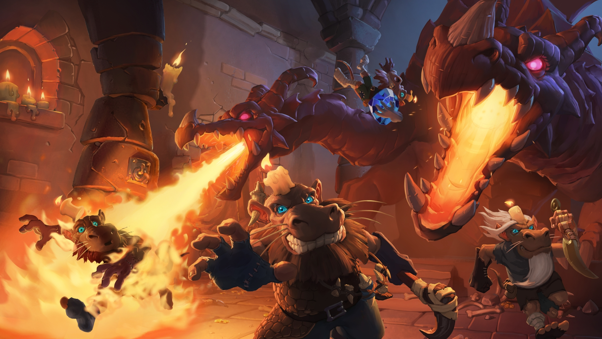 Hearthstone: Kobolds and Catacombs Wallpapers