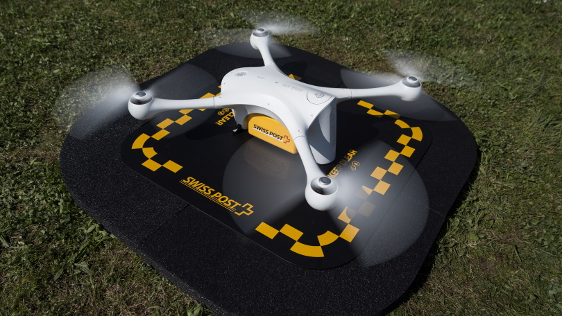 Swiss Post Grounds Delivery Drones After Crash Near Kids