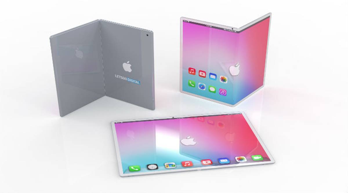 apple self healing display, apple foldable phone, apple self healing display patent, apple first foldable phone, apple foldable phone leaks, apple foldable phone specifications